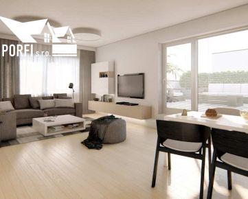 Novostavba 3 - izbového bytu, priestranná terasa,parkovacie státie 2x, Slovenský Grob