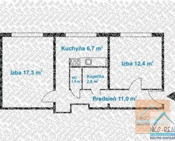 2 izb. byt, SLATINSKÁ ul., po NOVEJ rekonštr. podľa Vašich predstáv