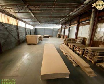 Na prenájom sklad 200 m2 v priemyselnej zóne v Žiline