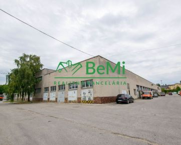 Predaj výrobného areálu v meste Nitra 140-110-VIG