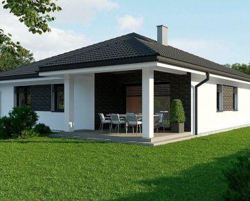 4 izbový tehlový rodinný dom 135m2. PEKNÝ pozemok 740m2 je v cene