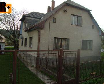 Vidiecky dom na predaj Svinná centrum - dvojgeneračný