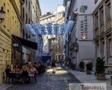 Zaujímavá investícia v centre Bratislavy