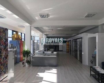 Showroom, obchodné, administratívne a skladové priestory, Bratislava