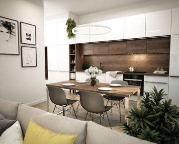 NOVÉ ZLATOVCE - 4-izbový byt V1.1, 84 m2, balkón, 1. poschodie/4., NOVOSTAVBA