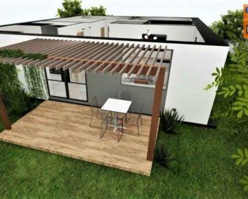 Novostavba, rodinný dom, všetky IS, pozemok 425 m2, Dulová ves - Košariská. CENA: 155 000,00 EUR