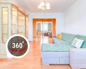 AXIS REAL:: Slnečný 3-izb. byt, LODŽIA, BA IV. Karlova Ves, Púpavová