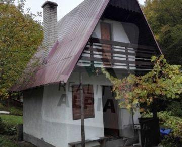 Útulná chata s balkónom a pozemkom, Udiča