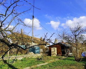 Rekreačný pozemok s drevenou chatkou 320 m2