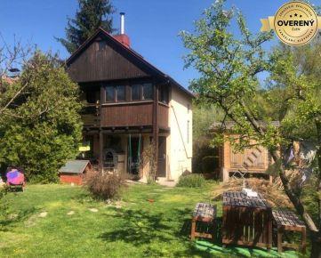 BA/DEVÍN - EXKLUZÍVNE na predaj celoročne obývateľná chata so záhradou