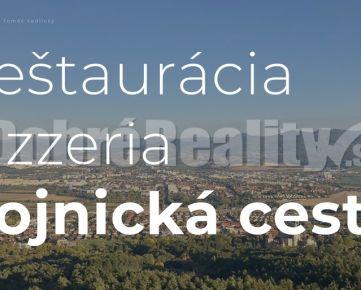 Reštaurácia / pizzeria na výbornom mieste s terasou a kompletným vybavením na Bojnickej ceste