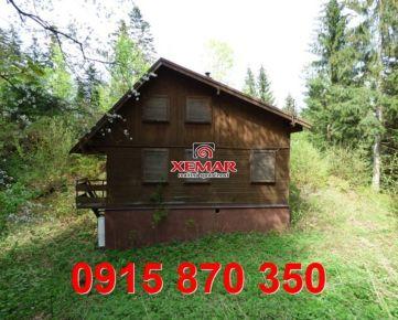 Na predaj rekreačná chata pri Banskej Bystrici v obci Králiky