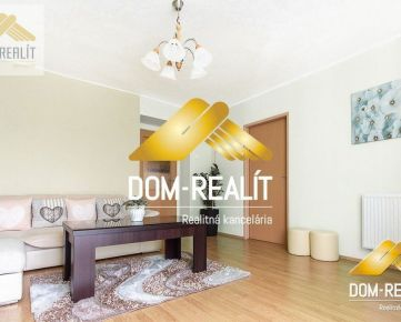 Obhliadky robíme...DOM-REALÍT a veľký slnečný 2-izbový byt na Staničnej ulici v Nitre