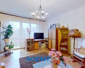 AGENT.SK Priestranný 3-izbový byt so záhradou v centre Žiliny