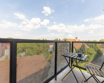 3 izb byt v Novostavbe - 2x parking - zariadený, klíma - Majerská ulica