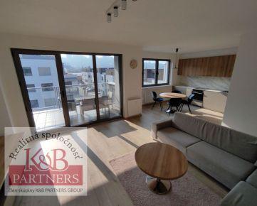 Ponúkame Vám na prenájom nový 3-izbový byt s garážou a parkovacím miestom v novostavbe v Trenčíne.