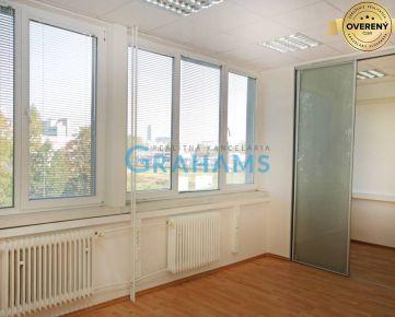 GRAHAMS-PRENÁJOM kancelárske priestory, Mlynské Nivy, Ružinov