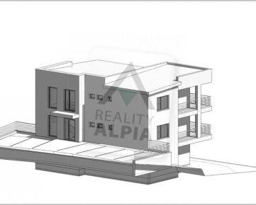 Nadštandardný 3 - izbový byt s pozemkom v novostavbe /86 m2 + 250 m2 / Žilina - Závodie