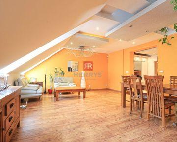 HERRYS - Na prenájom priestranný 3 izbový mezonet s veľkou terasou v centre mesta s výbornou občianskou vybavenosťou
