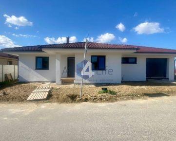 Novostavba 4i rodinného domu s 463m² pozemkom v Moravanoch n/V