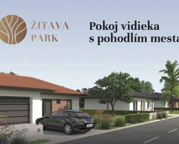 Rezidenčná zóna - ŽITAVA PARK, 118 novostavieb rodinných domov, Vráble, okr. Nitra