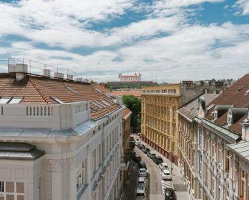PROMINENT REAL predá nový nadštandardný 2 izb. v centre Bratislavy.