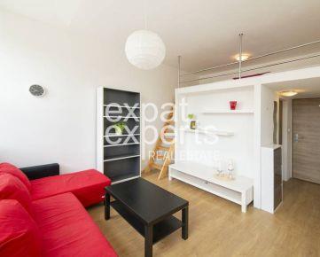 Svetlý, útulný a zariadený 1i byt 25 m2, BA- Nové Mesto, Zlaté Piesky
