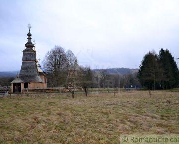 Pozemok pri drevenom kostolíku- Ladomirová