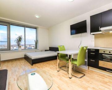 HERRYS - Na prenájom kompletne zariadený 1 izbový byt so šatníkom v novostavbe III Veže