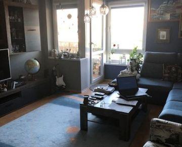 NA PREDAJ, priestranný 3 izbový byt (91 m2) v tehlovom bytovom dome, časť Zámostie na Staničnej ulici, Trenčín