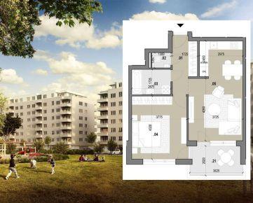 2-izbový byt B.710 v novostavbe Zelené Vlčince