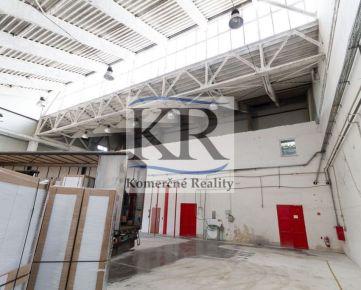 Skladové, výrobné a administratívne priestory na prenájom, 1.100m2, Trnava, 3,75,-EUR/m2 + en. + DPH
