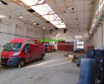 GARANT REAL - prenájom výrobné haly, skladové priestory s administratívou 1741 m2, Sabinov