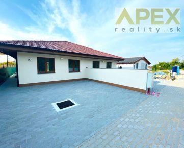 Exkluzívne - APEX reality_novostavba 4i. rodinného domu v Koplotovciach s krásnym výhľadom, 85 m2