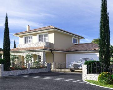 Ponúkame na predaj luxusný dvojpodlažný rodinný dom typ XL.g. ÚP 221m2, pozemok 1094m2