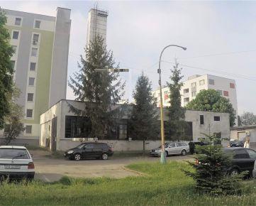 Budova - nebytový priestor Trebišov, video