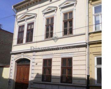 Na predaj administratívna budova na Mäsiarskej ulici, Košice - Staré Mesto