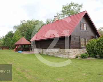 Rekreačný  dom vhodný na celoročné bývanie v obci Jedlinka, okr. Bardejov