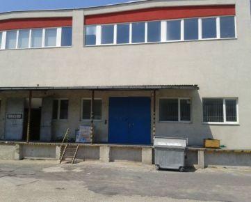 SKLADOVÉ PRIESTORY 1600 M2 NA STAREJ VAJNORSKEJ/WAREHOUSE 1600 M2 FOR RENT STARA VAJNORSKA