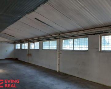 Výrobno-skladová hala  250 m2 pri diaľnici Malacky