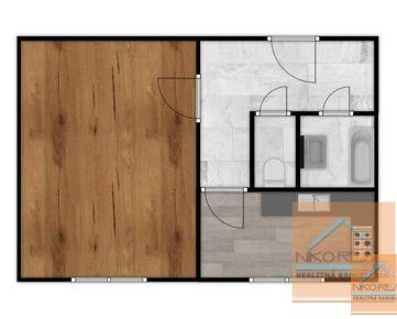 1 izb. NOVO zrekonštruovaný byt, ŽARNOVICKÁ ul.