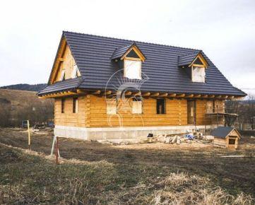 Drevenica o veľkosti rodinného domu