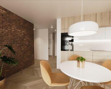 Rezidencia Bystrická! Predaj priestranného 3i bytu 75,69m2 - 2.poschodie,  Ružomberok