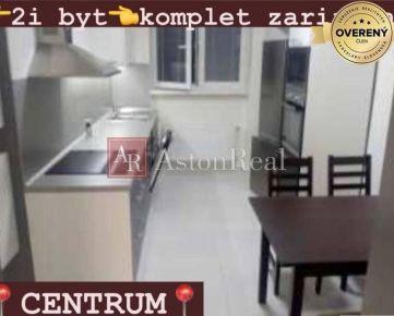 NÁJOM: 2-izbový kompletne zariadený byt FORTNIČKA + garáž