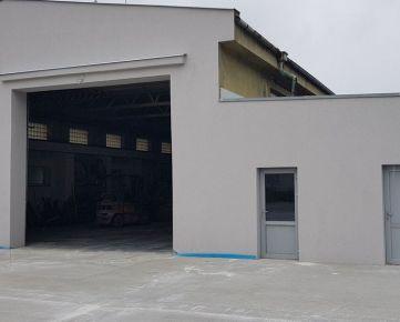 ID 2120  Prenájom: výrobno-skladový objekt 960 m2