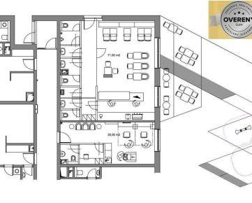 Nebytový priestor v projekte BYTY DUO na prenájom