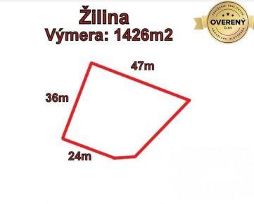 ŽILINA pozemok 1426 m2