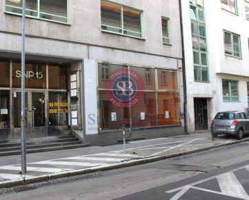 StarBrokers – PRENÁJOM: obchodný priestor 79 m2 v centre - Nám.SNP v Bratislave