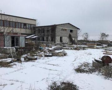 AARK: Výrobno-skladový areál, Chtelnica