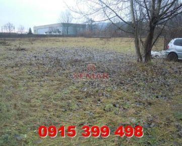 Na predaj stavebný pozemok v BB-Radvaň